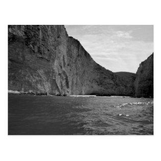 Isla 4 de B&W Zakynthos Tarjetas Postales