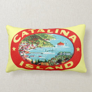 Isla California de Catalina del vintage Cojín