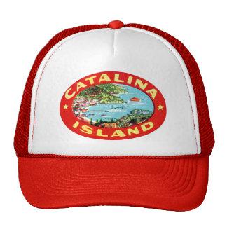 Isla California de Catalina del vintage Gorras