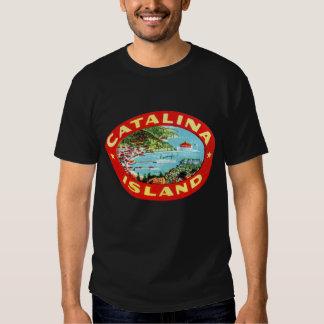 Isla California de Catalina del vintage Polera