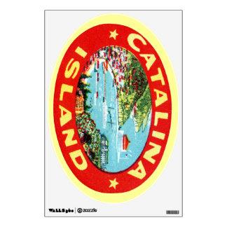 Isla California de Catalina del vintage Vinilo Adhesivo