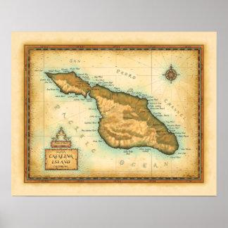 Isla California de Catalina Póster