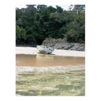 Isla Canas, Islas las Perlas, Panama Postcard