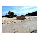 Isla Canas, las Perlas, Panamá de Islas Tarjetas Postales