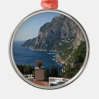 Isla Capri Niza una opinión de la terraza Adorno De Reyes