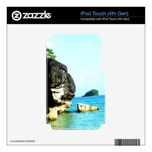 isla caramoan de la formación de roca skins para iPod touch 4G