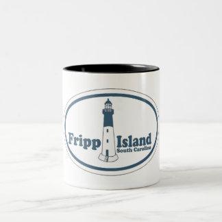 Isla Carolina del Sur de Fripp. Taza De Café