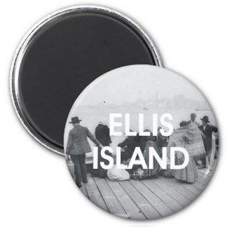 Isla de ABH Ellis Imán Para Frigorífico