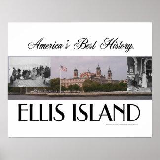 Isla de ABH Ellis Póster