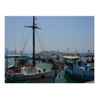 Isla de Aegina, Grecia Poster