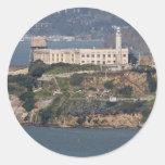 Isla de Alcatraz 2 Etiqueta Redonda