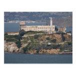 Isla de Alcatraz 2 Postal