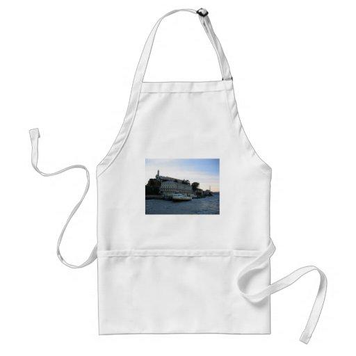 Isla de Alcatraz 3 Delantal