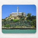 Isla de Alcatraz Alfombrillas De Raton