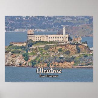 Isla de Alcatraz California Póster