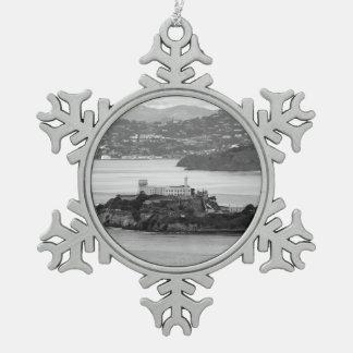 Isla de Alcatraz del Flyby Adornos
