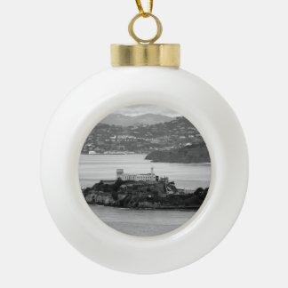 Isla de Alcatraz del Flyby Adorno