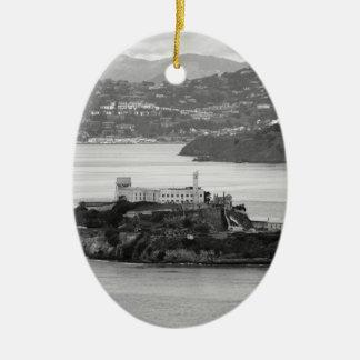 Isla de Alcatraz del Flyby Adorno De Navidad
