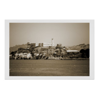 Isla de Alcatraz Poster