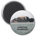 Isla de Alcatraz San Francisco Bay Imanes Para Frigoríficos