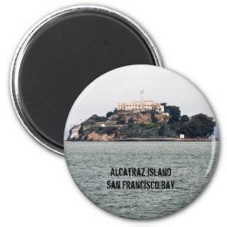 Isla de Alcatraz San Francisco Bay Imán Redondo 5 Cm