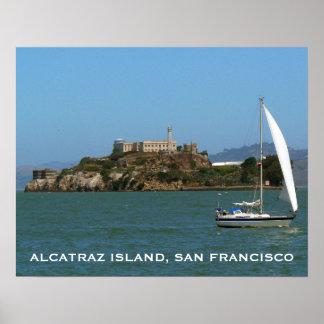 Isla de Alcatraz, San Francisco, California Póster