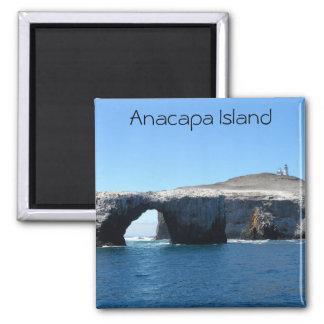 Isla de Anacapa Imán Cuadrado
