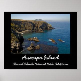 Isla de Anacapa Póster