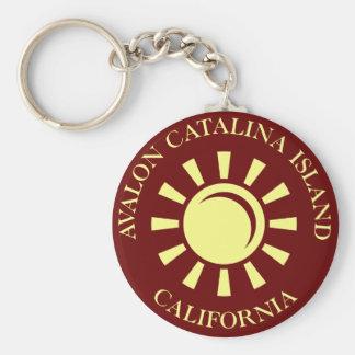 Isla de Avalon Catalina California Llavero
