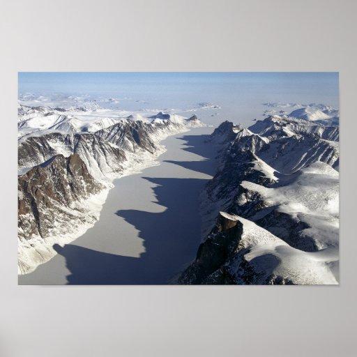 Isla de Baffin Poster