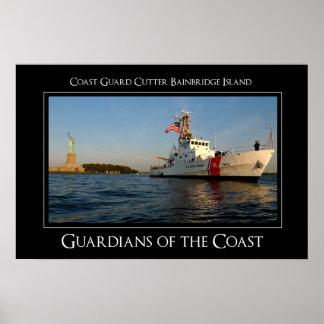 ISLA DE BAINBRIDGE DE USCGC PÓSTER
