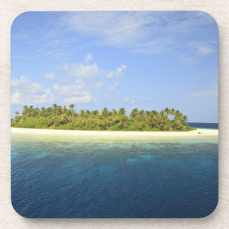 Isla de Baughagello, atolón del sur de Huvadhoo, 3 Posavasos De Bebidas