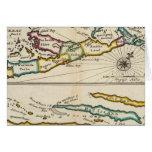 Isla de Bermudas, parte de la isla de Providence Tarjeta De Felicitación