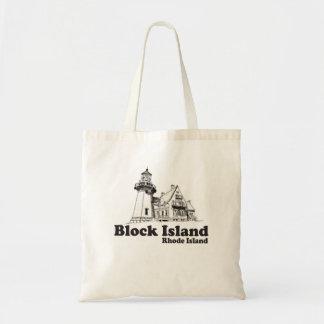 Isla de bloque bolsa tela barata