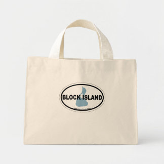 Isla de bloque bolsa de mano