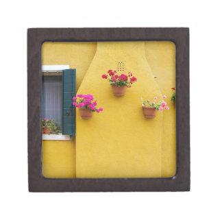 Isla de Burano, Burano, Italia. Burano colorido 3 Cajas De Joyas De Calidad