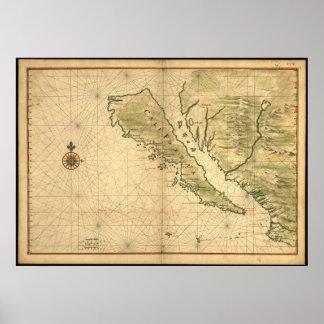 Isla de California Posters