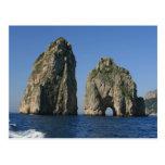 Isla de Capri, Faraglioni Postales