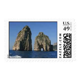 Isla de Capri, Faraglioni Sellos