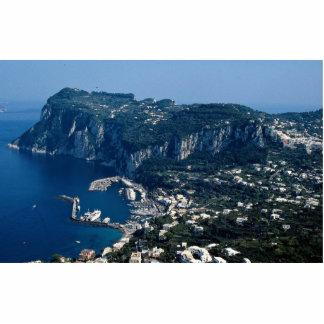 Isla de Capri, Italia Fotoescultura Vertical