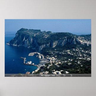 Isla de Capri, Italia Posters