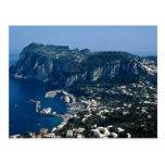 Isla de Capri, Italia Tarjeta Postal