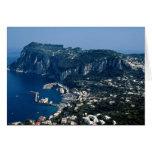 Isla de Capri, Italia Tarjetón
