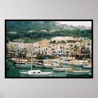 Isla de Capri Poster