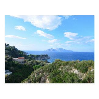Isla de Capri Tarjetas Postales