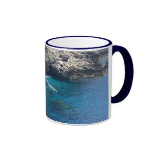 Isla de Capri Tazas De Café