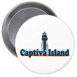 Isla de Captiva Pin Redondo 10 Cm