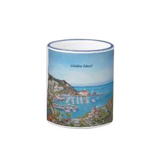 Isla de Catalina - blanco taza blanca clásica de