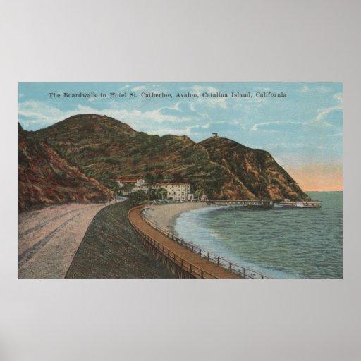 Isla de Catalina, CA - St. Catherine del hotel Impresiones