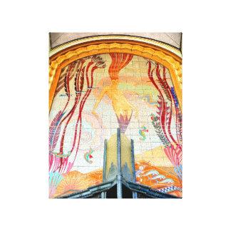 Isla de Catalina de la bella arte de Chartier Lona Envuelta Para Galerias